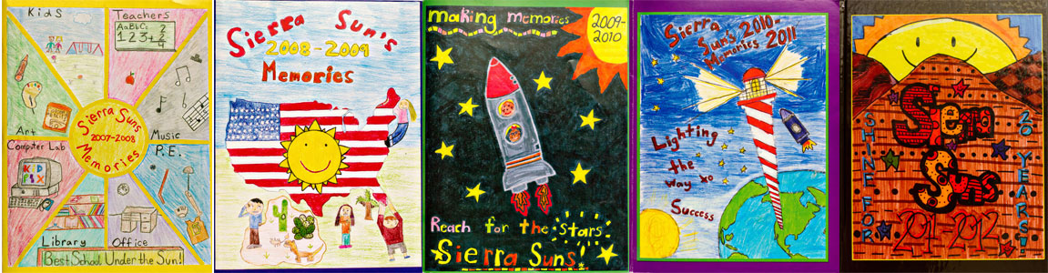 sierra pto 5th grade yearbook cover contest