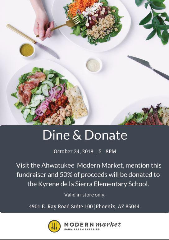 Modern Market Dine Donate